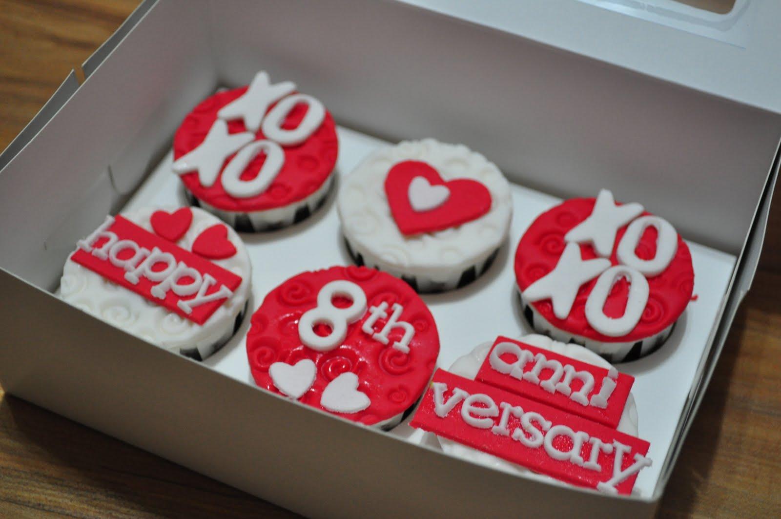 Ruby wedding anniversary heart shape cake truly scrumptious