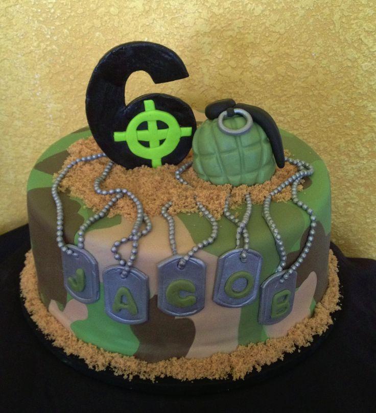 Astonishing 12 Soldier Military Birthday Cakes Photo Happy Birthday Military Personalised Birthday Cards Paralily Jamesorg