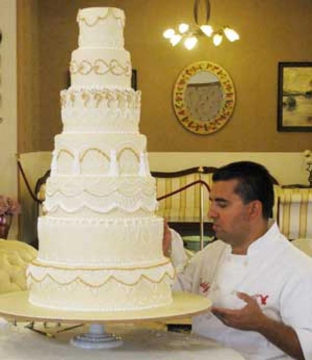 7 Buddy Valastro Wedding Cakes Photo Mario Lopez Wedding Cake