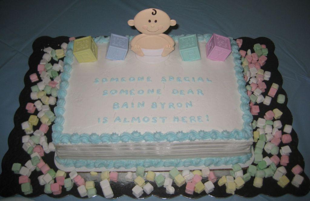12 Sayings On Baby Shower Cakes Photo Cute Baby Shower Cake