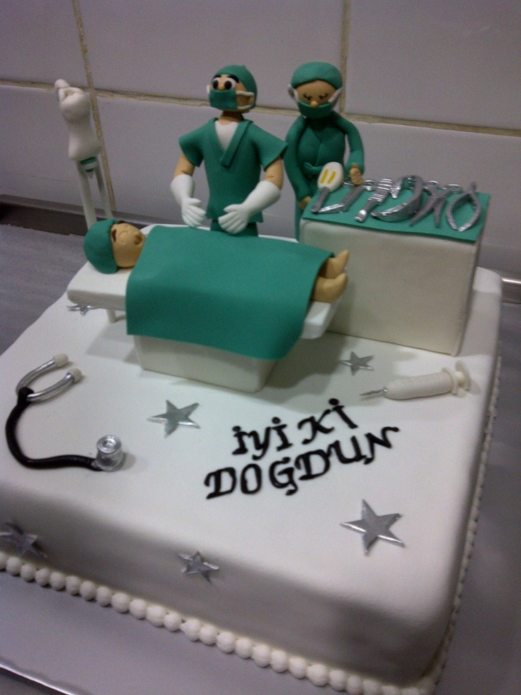 10 Nurse And Doctor Cakes Photo