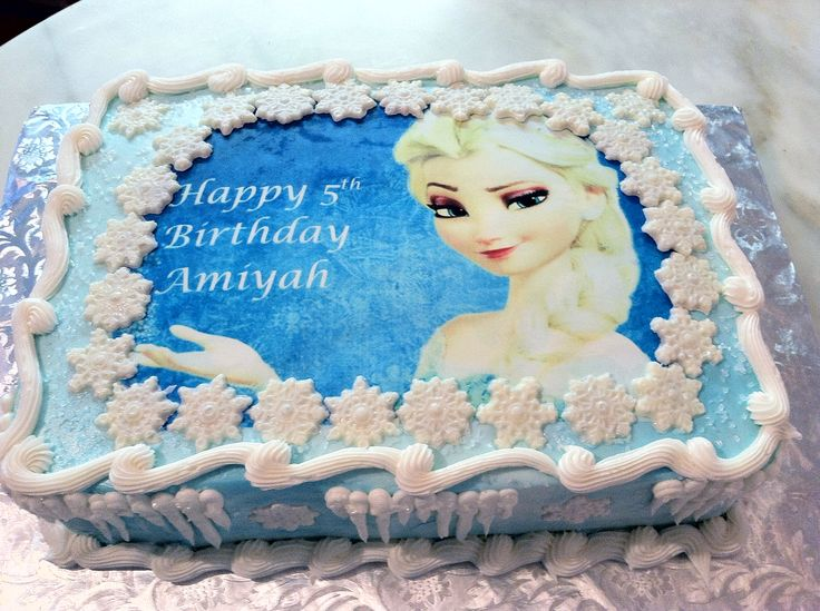 12 Buttercream Sheet Cakes Disney Frozen Photo Disney Frozen Sheet