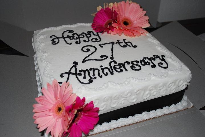 Happy Anniversary  Years Cake