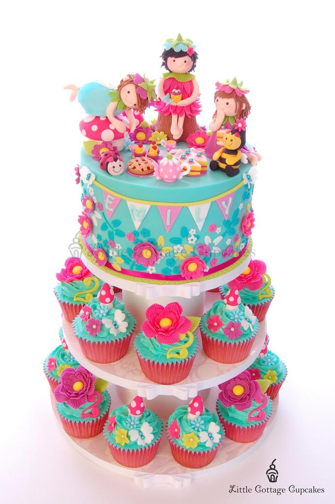 Happy 2nd Birthday Girl Cake