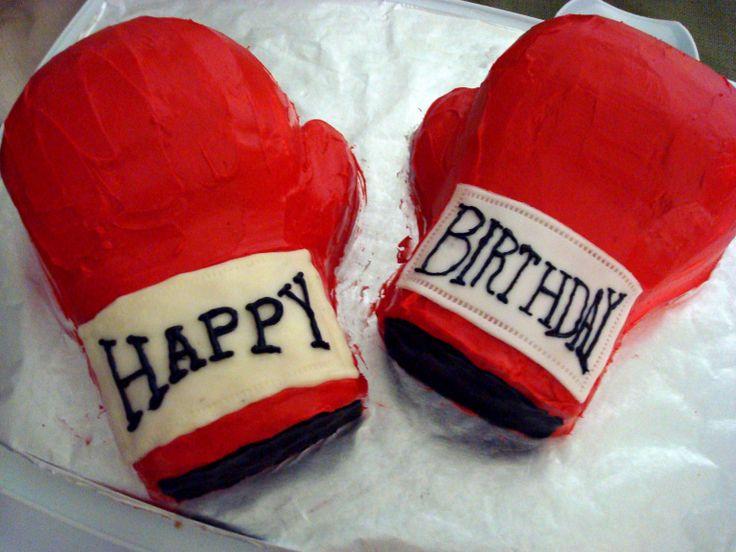 Astonishing 13 Funny Happy Birthday Boxing Cakes Photo Happy Birthday Boxing Funny Birthday Cards Online Alyptdamsfinfo