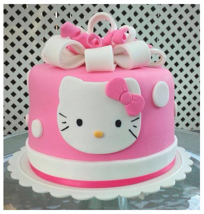 12 Hello Kitty Cupcake Birthday Cakes Photo