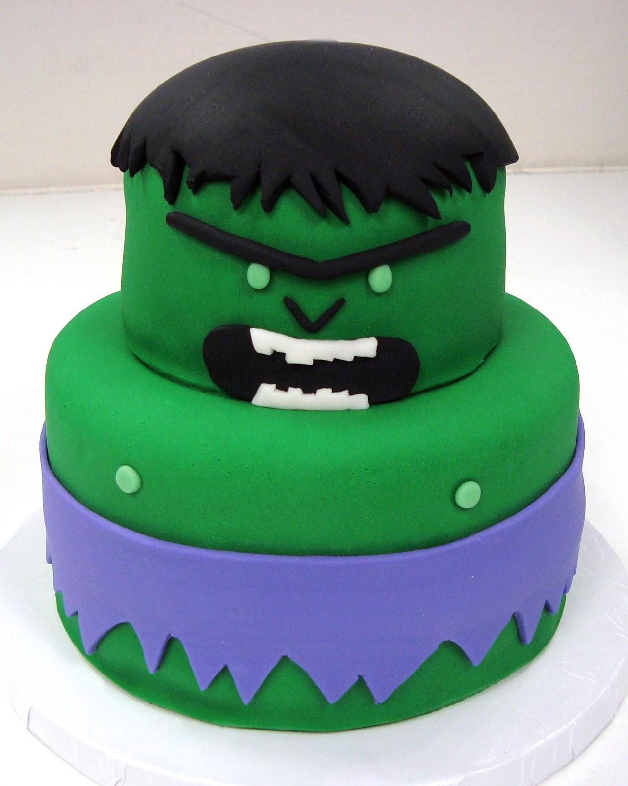Cool 12 Easy Hulk Cakes Photo Hulk Birthday Cake Ideas Incredible Funny Birthday Cards Online Elaedamsfinfo