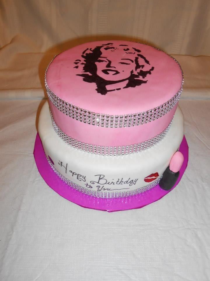 12 Marilyn Monroe Awesome Cakes Photo Marilyn Monroe Birthday Cake