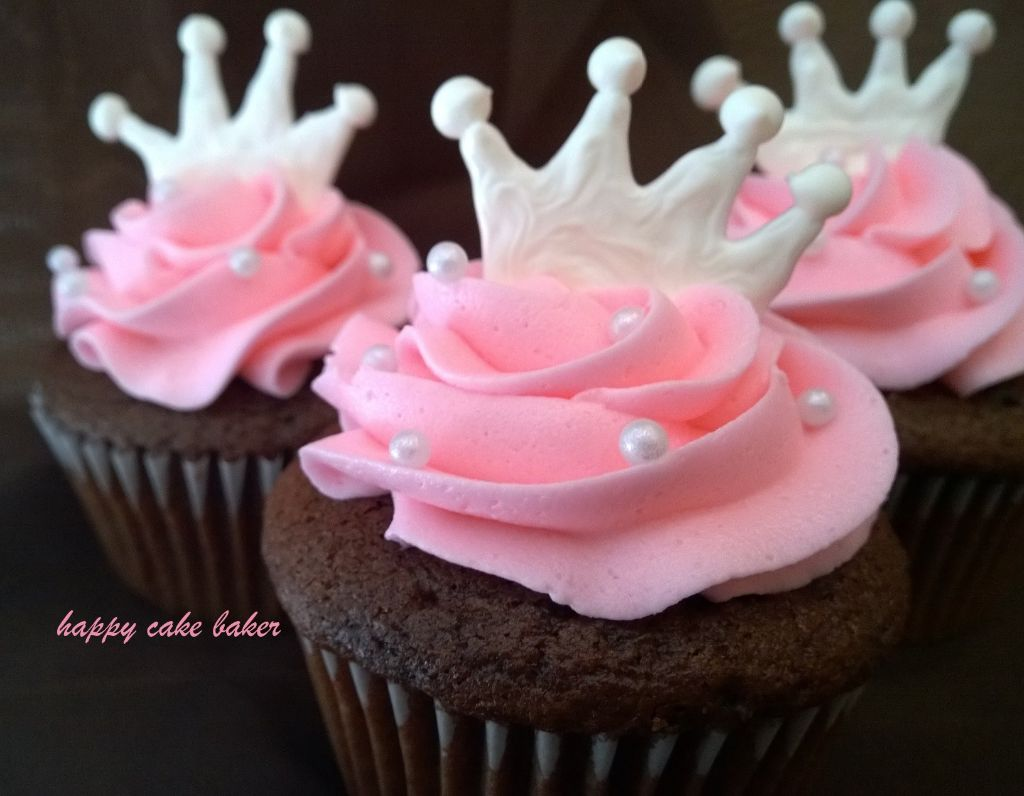 Princess Cupcake Birthday Cake