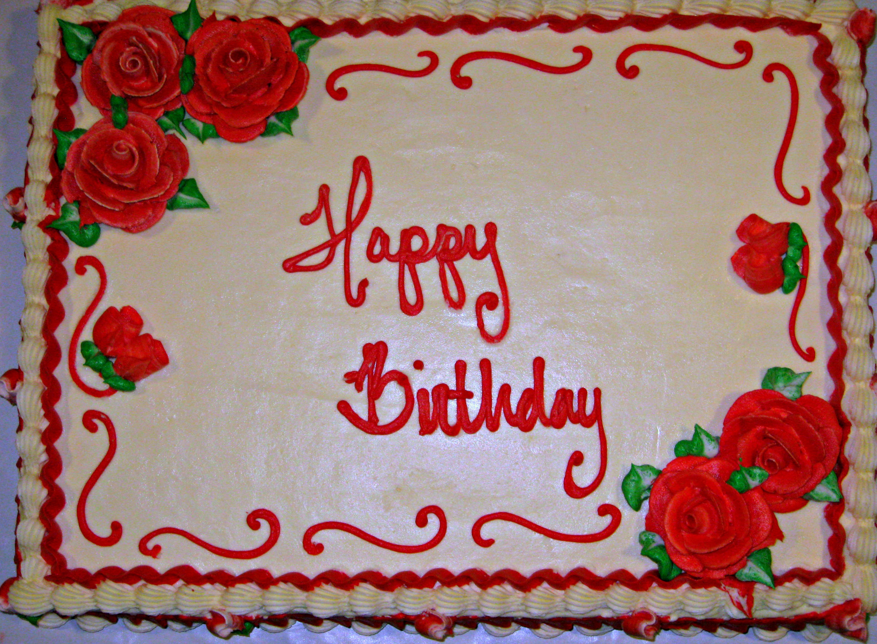 Astounding 7 January Sheet Cakes Photo Sheet Cake Decorating Ideas Happy Personalised Birthday Cards Cominlily Jamesorg