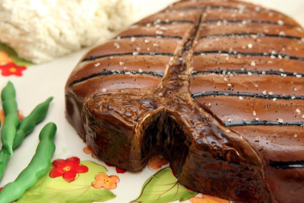 Cool 12 Realistic Steak Birthday Cakes Photo Unique Birthday Cake Funny Birthday Cards Online Inifofree Goldxyz