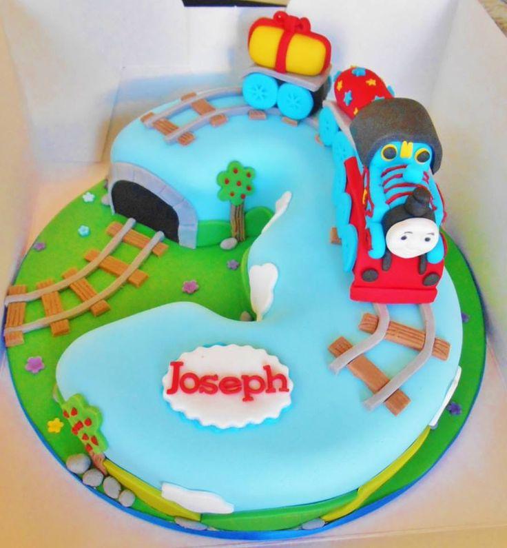 Enjoyable 10 Number Three Thomas Cakes Photo Thomas The Train Birthday Funny Birthday Cards Online Sheoxdamsfinfo