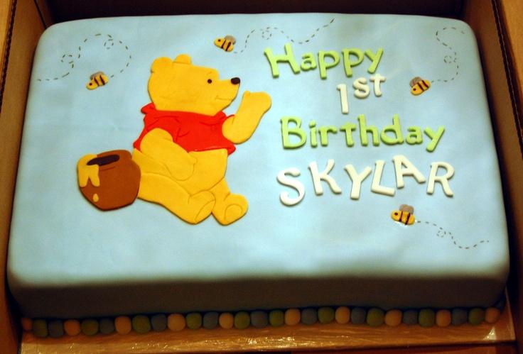 Wondrous 8 2Nd Birthday Cakes For Winnie The Pooh Photo Winnie The Pooh Funny Birthday Cards Online Aeocydamsfinfo