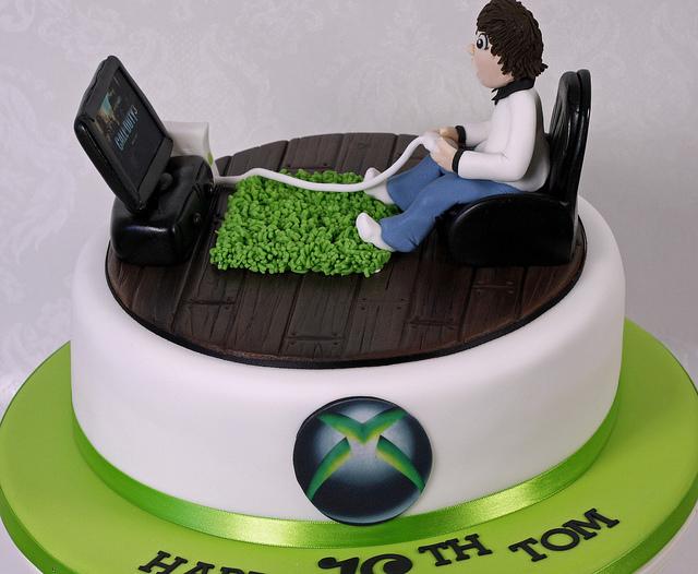 Xbox Birthday Cake Ideas