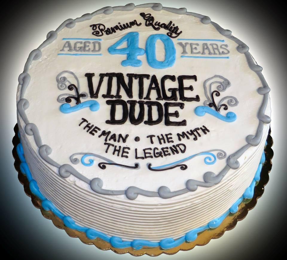 12 40 Birthday Funny Cakes Photo