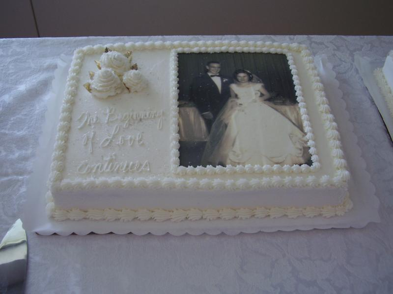 12 Wilton 50th Wedding Cakes Photo - 50th Wedding Anniversary Cake ...