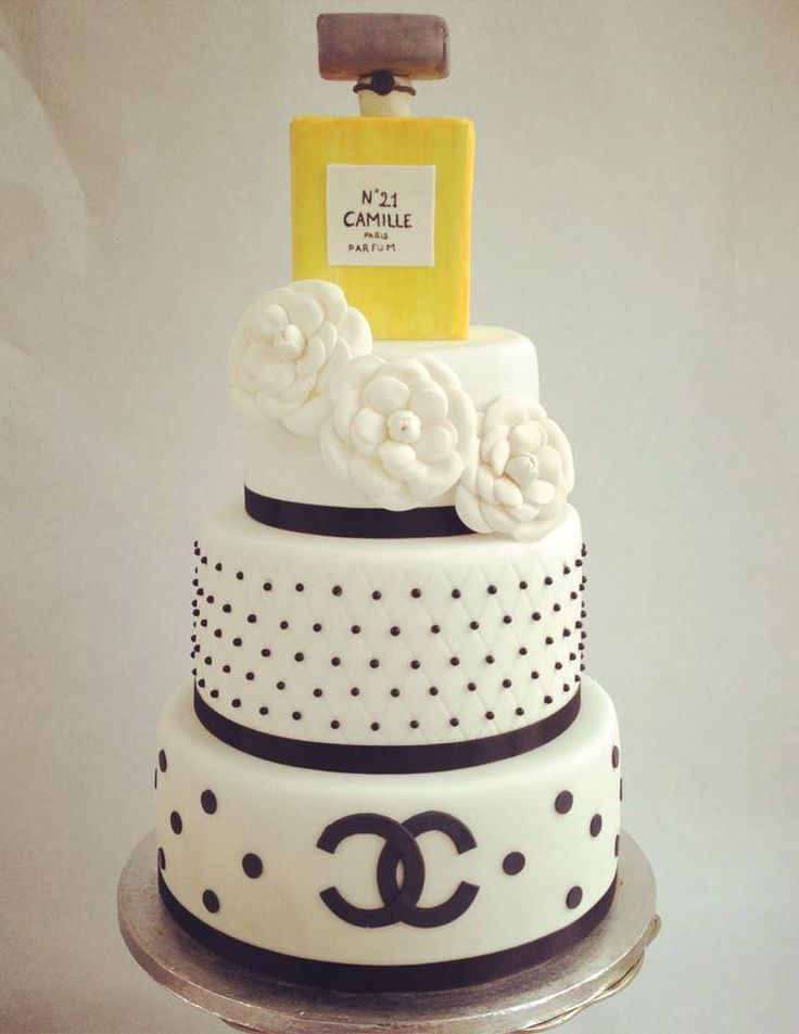 Remarkable 12 Perfume Bottle With Cakes And Purses Photo Chanel Perfume Funny Birthday Cards Online Necthendildamsfinfo