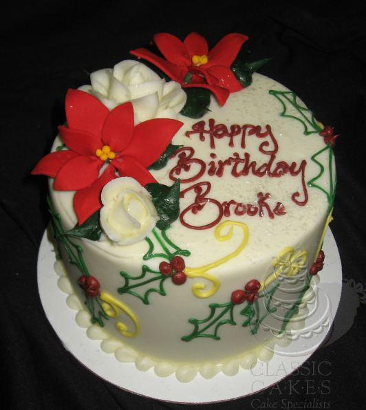christmas holiday birthday cake - Christmas Birthday Cake
