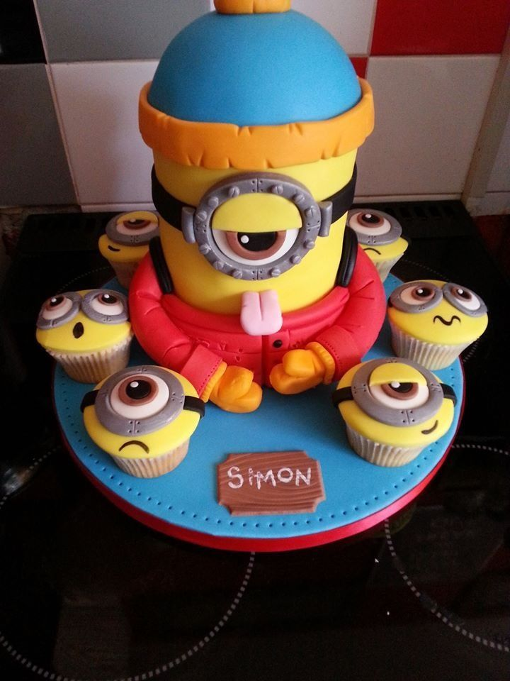 12 Coolest Despicable Me Minion Birthday Cakes Photo Coolest