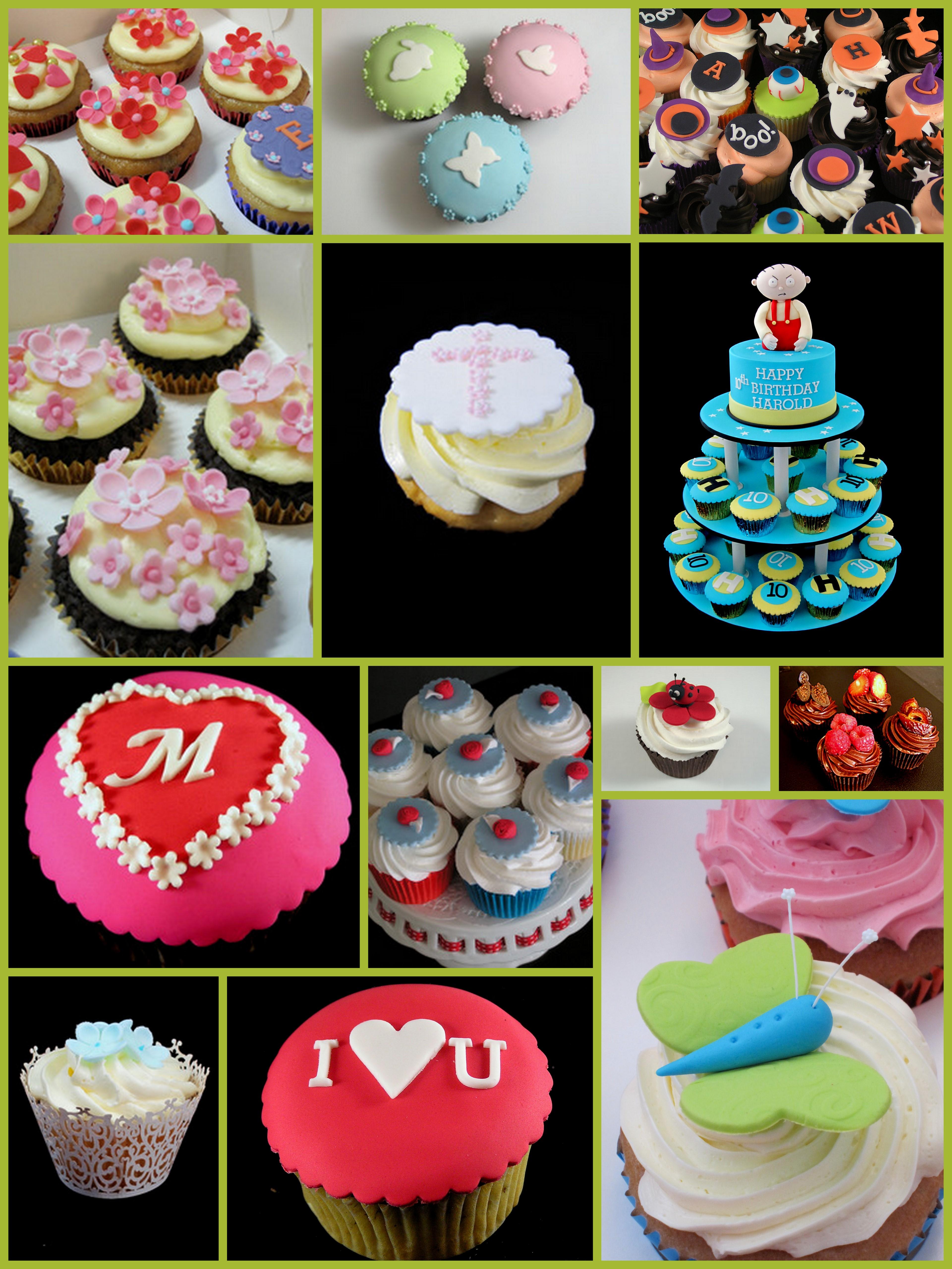 Cupcake Cake Designs Ideas