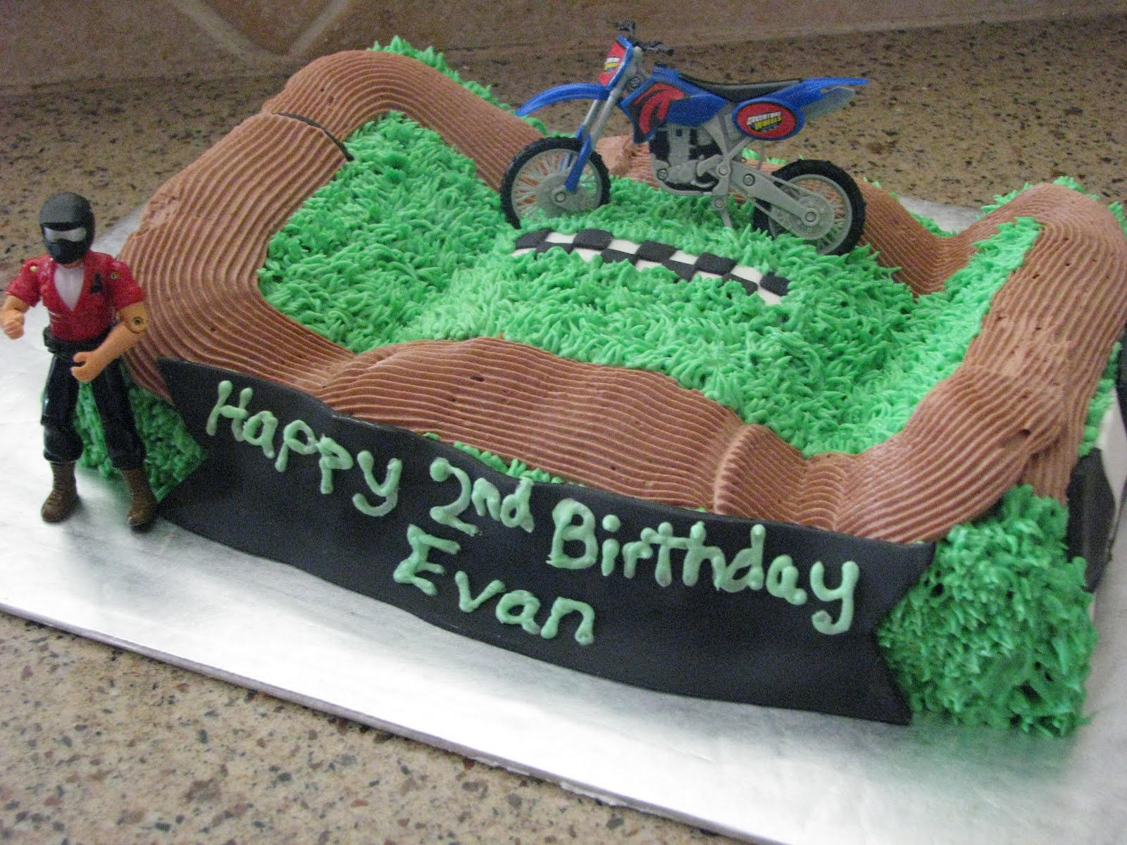 Peachy 11 Dirt Bike Bday Cakes Photo Dirt Bike Birthday Cake Idea Dirt Funny Birthday Cards Online Overcheapnameinfo
