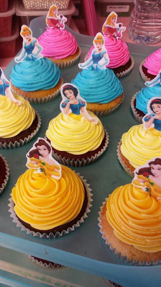 Miraculous 8 Disney Princess Cupcakes Cakes For Girls Photo Disney Princess Funny Birthday Cards Online Inifodamsfinfo