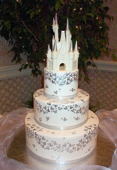 11 Princess Theme Wedding Cakes Photo - Disney Princess Wedding Cake ...