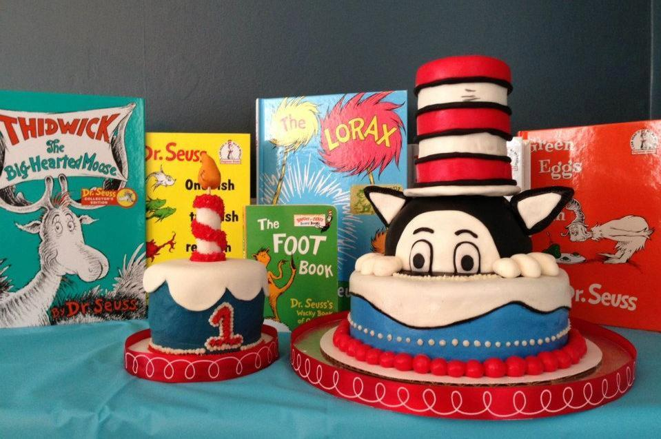 11 Dr Seuss Cakes Designs Photo Dr Seuss Birthday Cake Dr
