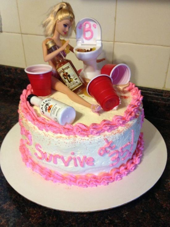 Remarkable 12 Fun Birthday Cakes For Women Photo Black Birthday Cake Funny Funny Birthday Cards Online Alyptdamsfinfo