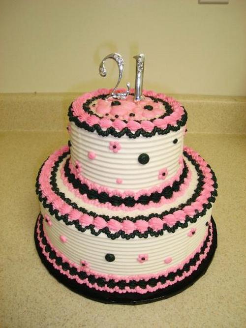 11 21 Birthday Cakes For Girls Photo Girls 21st Birthday Cake