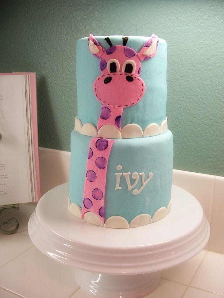 11 Teen Giraffe Cakes Photo Girls Giraffe Birthday Cake Giraffe