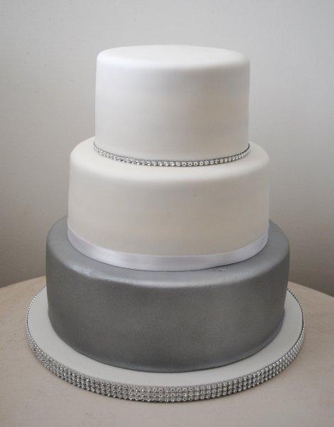 11 Gray And White Wedding Cakes Photo Dove Grey Wedding Cake Grey