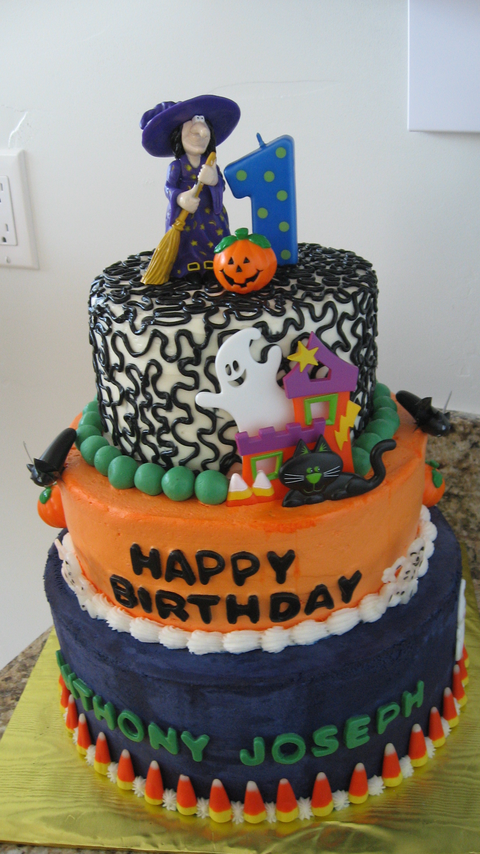 Pleasing 13 Halloween Bday Cakes Photo Halloween Birthday Cake Halloween Funny Birthday Cards Online Alyptdamsfinfo