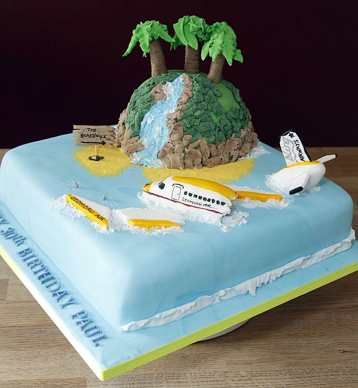 6 Island Theme Wedding Cakes Photo Unique Wedding Cake Island