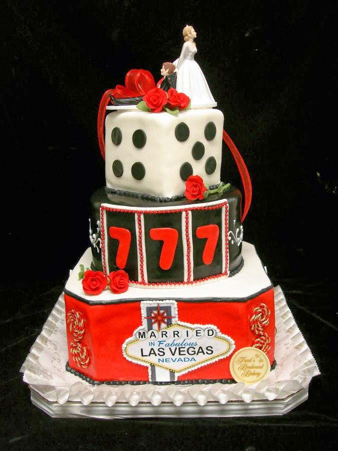 8 Las Vegas Themed Wedding Cakes Photo Las Vegas Themed Wedding