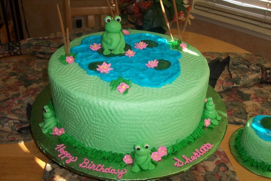 5 Realistic Frog Birthday Cakes Photo Frog Birthday Cake Ideas
