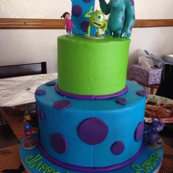 12 Monster Incm Shower Cakes Photo Monsters Inc Baby Shower Cake