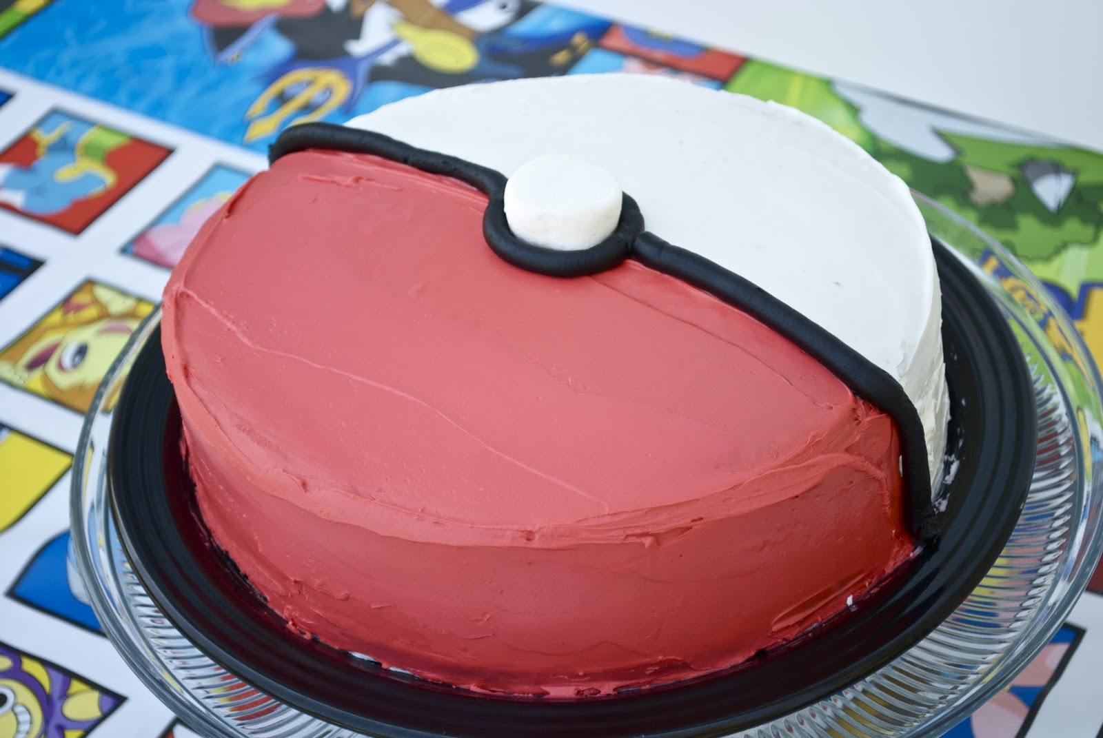 8 Easy Pokemon Cakes Photo Pokemon Birthday Party Cake Pikachu