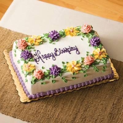 12 Publix Birthday Cakes Flowers Theme Photo
