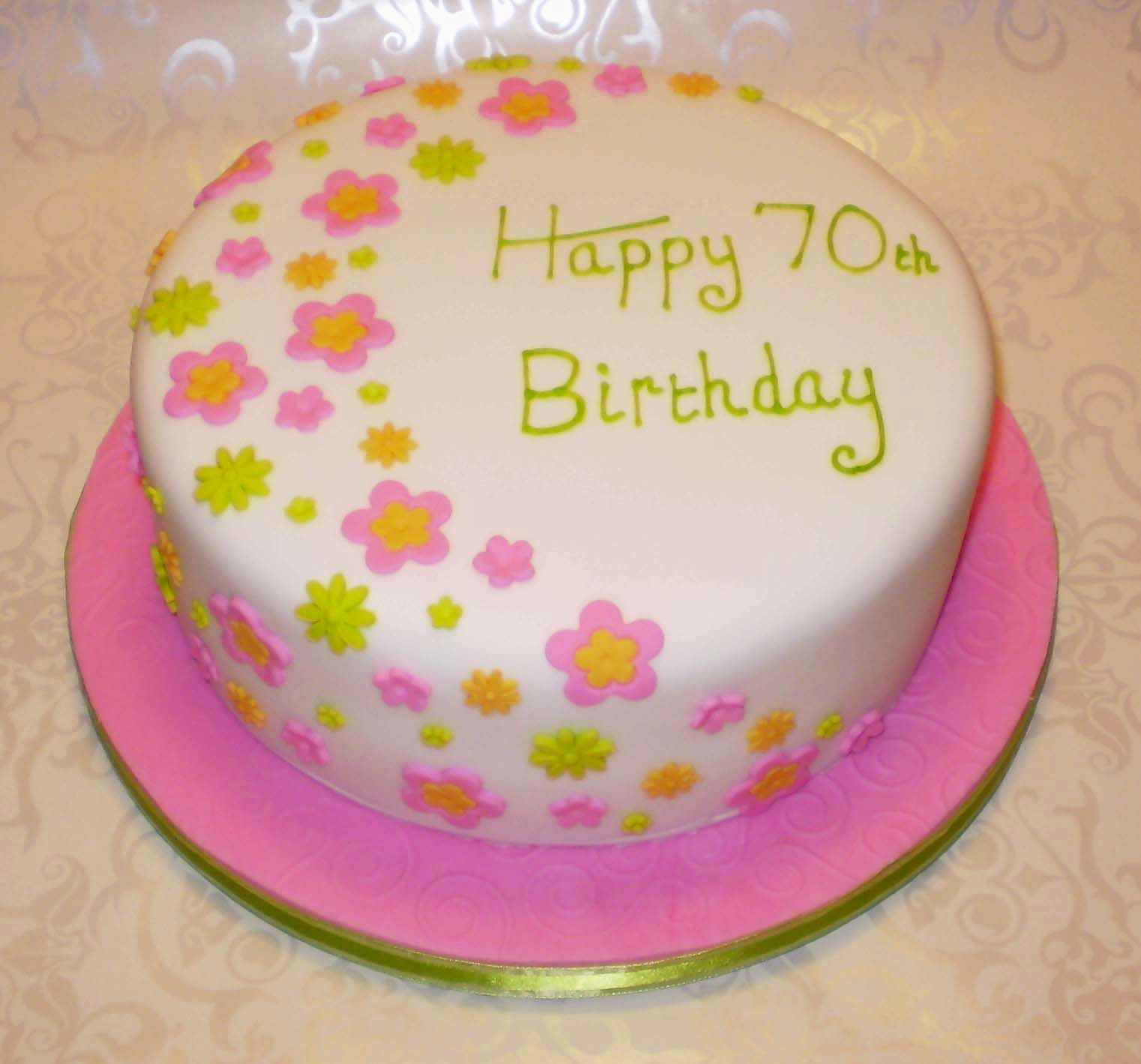 Simple Cake Decorating Ideas Flowers Flisol Home