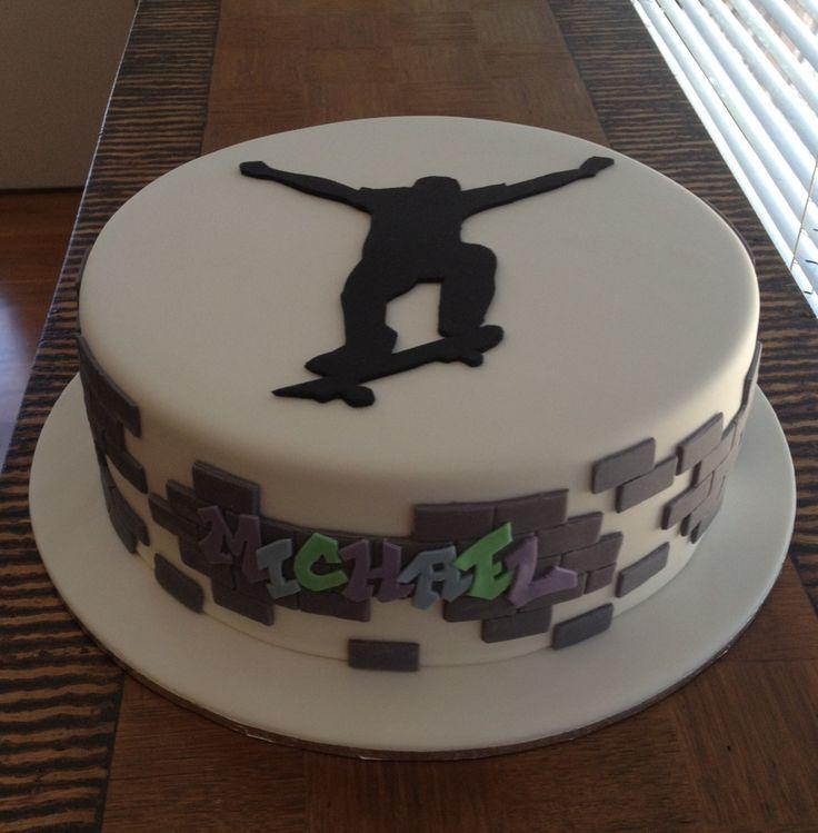 Enjoyable 6 Skateboard 4 Year Old Boy Cakes Photo Skateboard Birthday Cake Funny Birthday Cards Online Bapapcheapnameinfo