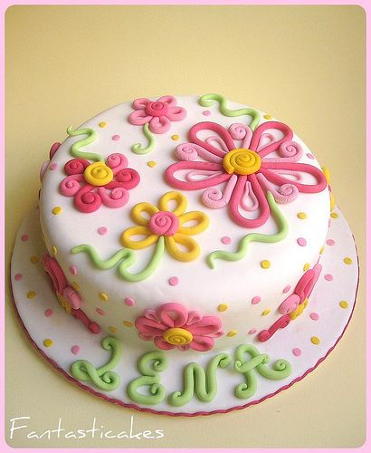 Spring Cake Decorating Ideas