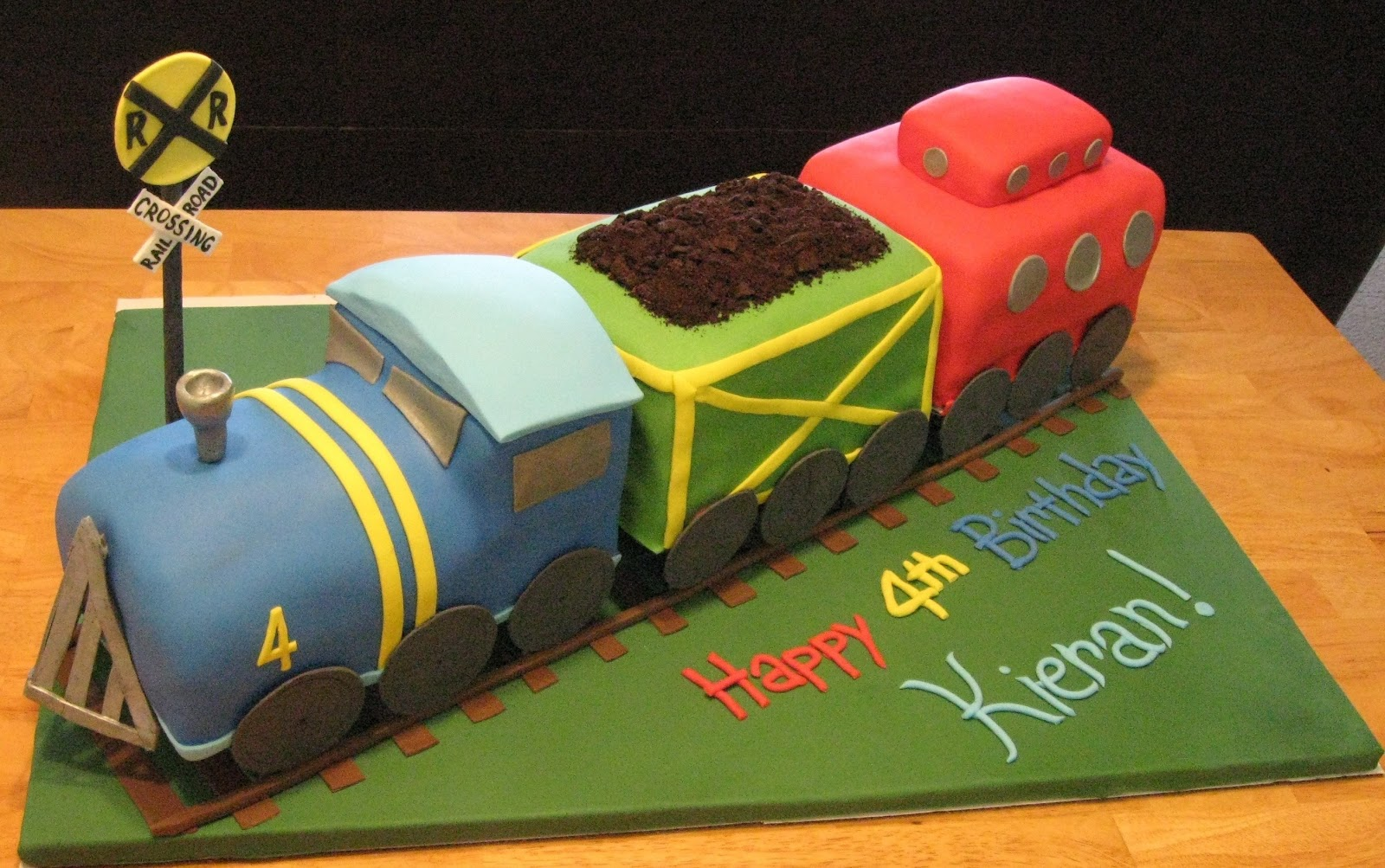 7 Train Birthday Cakes For Boys Photo Train Birthday Cake Train
