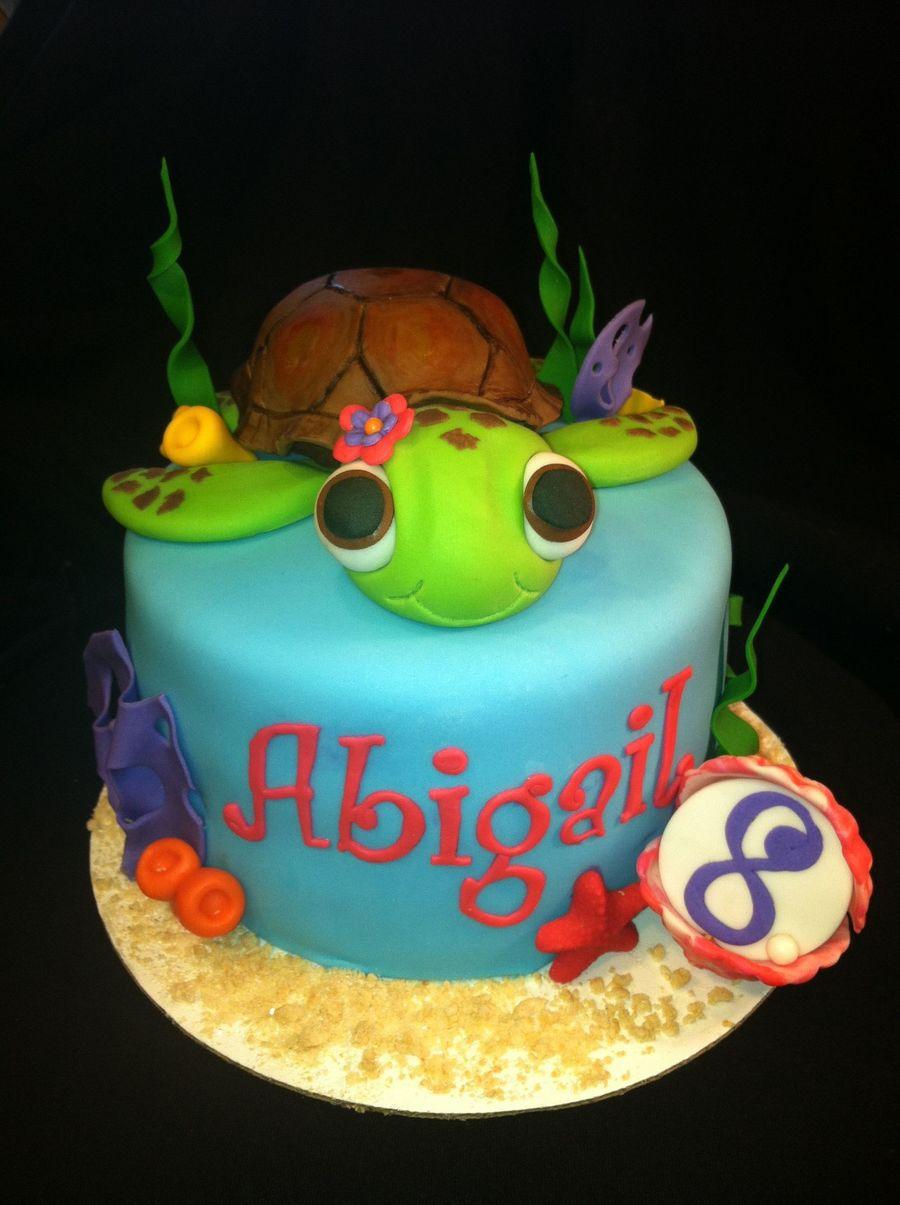Marvelous 12 Simple Sea Turtle Birthday Cakes Photo Turtle Birthday Cake Funny Birthday Cards Online Inifofree Goldxyz