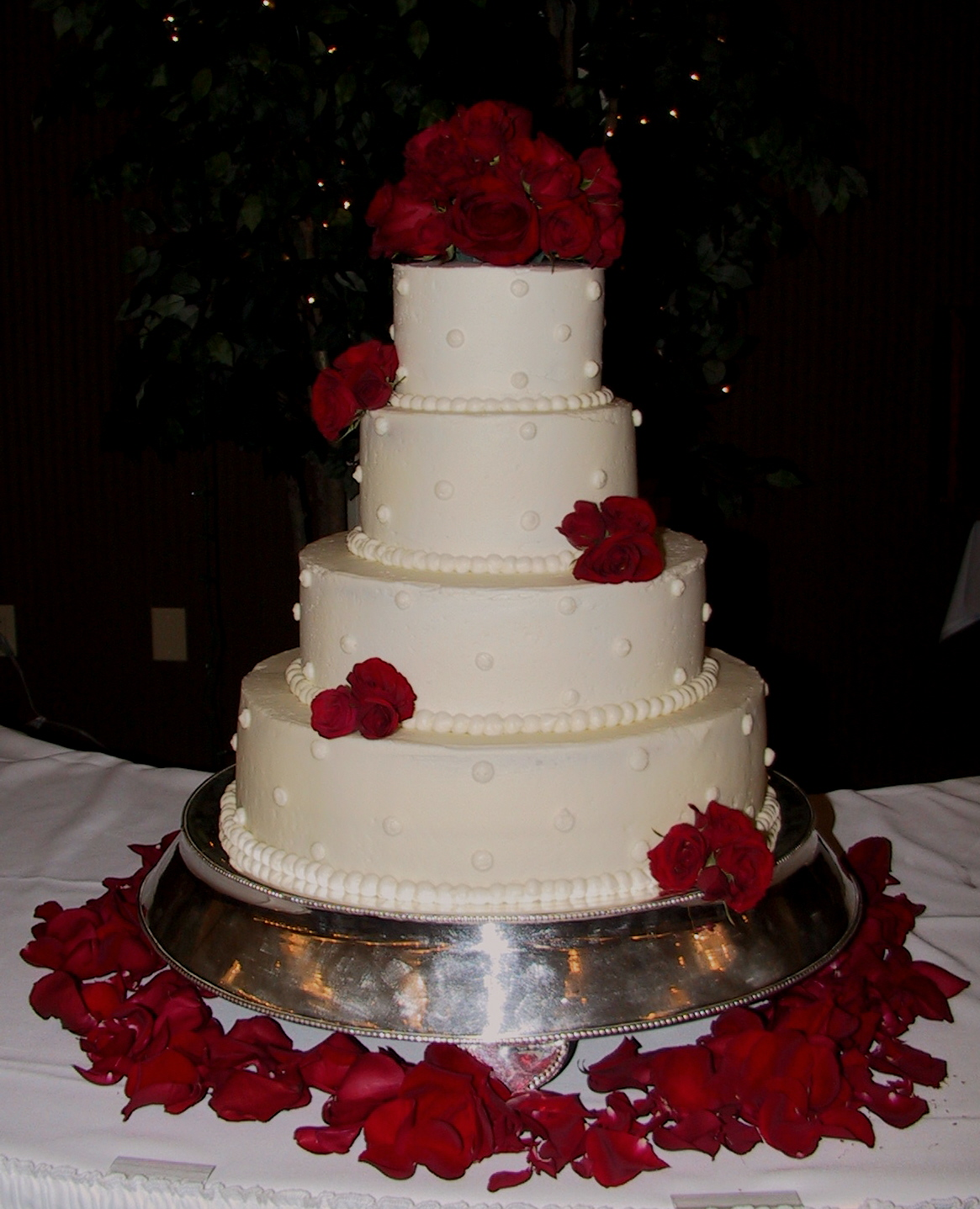 10 Small Red And White Square Wedding Cakes Photo Wedding Cake