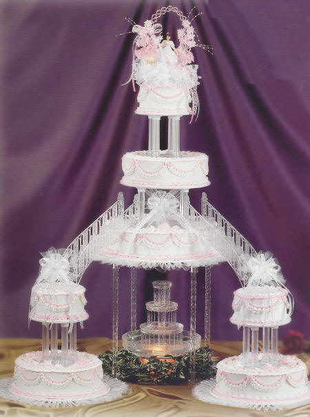 11 Wedding Cakes With Bridges Photo Bridge Wedding Cakes With