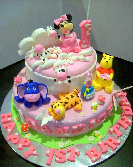 Birthday Cake Designs Cartoon Characters