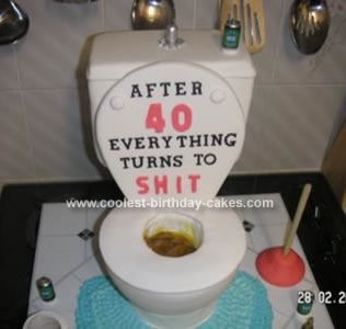 10 Homemade 40th Birthday Cakes Ideas Photo