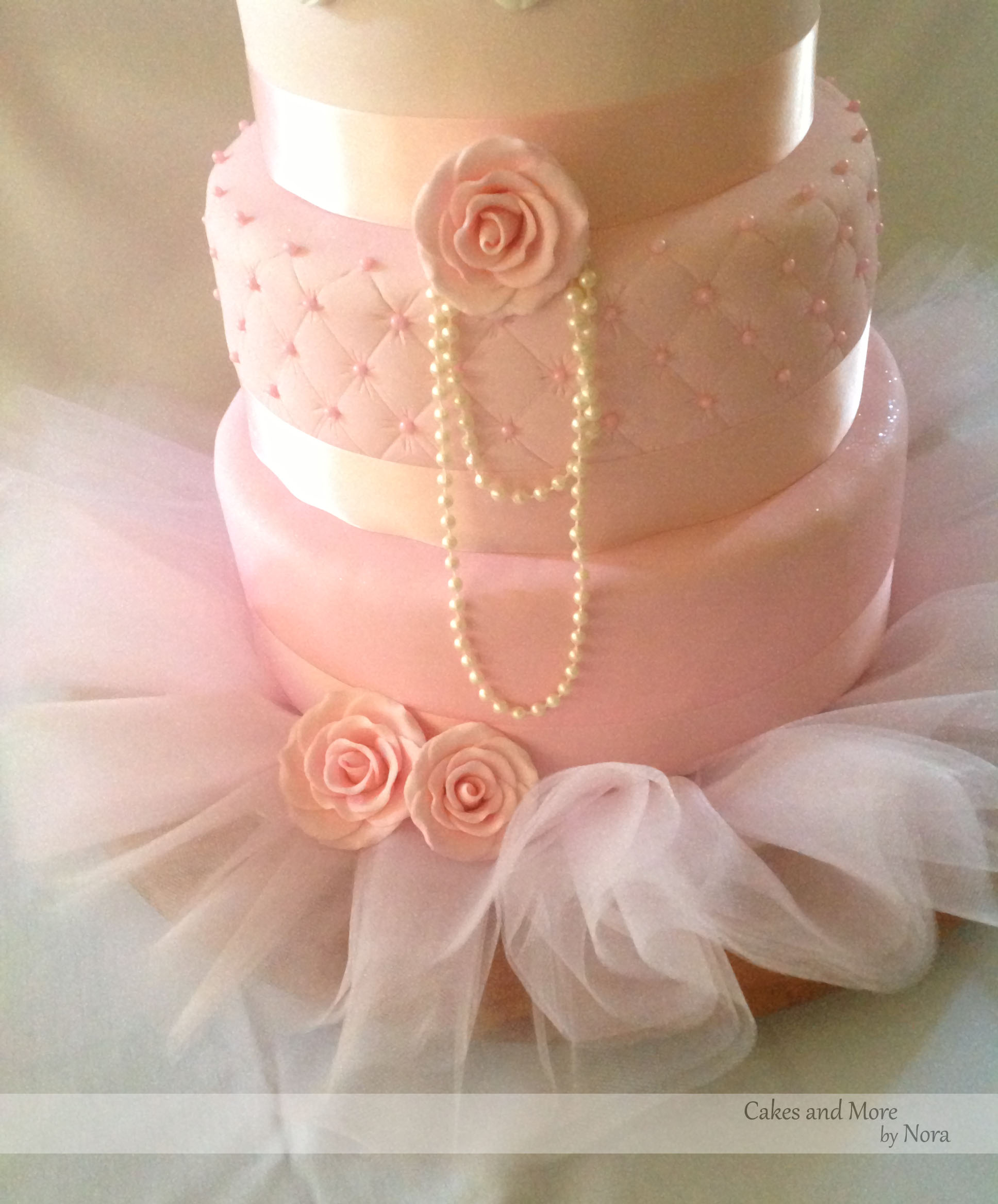 13 Girl With Tutu First Birthday Cakes Photo Baby Ballerina