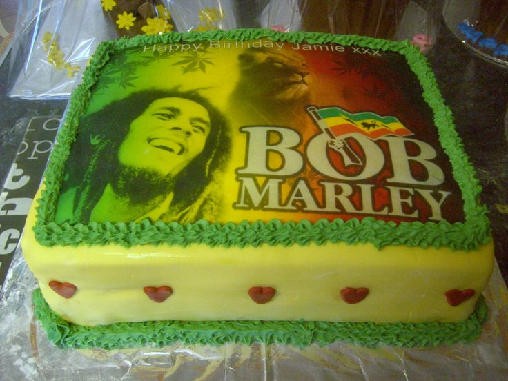 Groovy 8 30Th Birthday Cakes Bob Marley Photo Bob Marley Themed Personalised Birthday Cards Veneteletsinfo